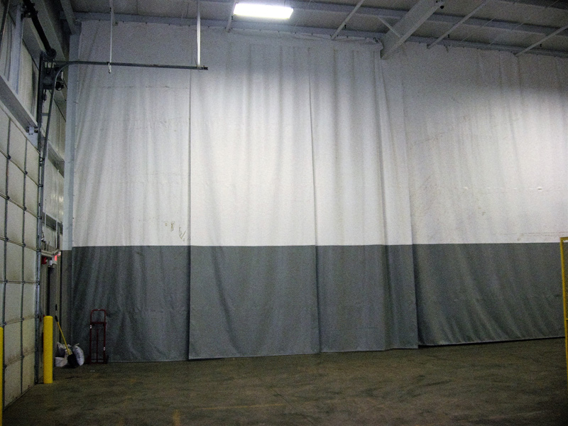 Industrial Flame Resistant Curtains 2 Color Curtain